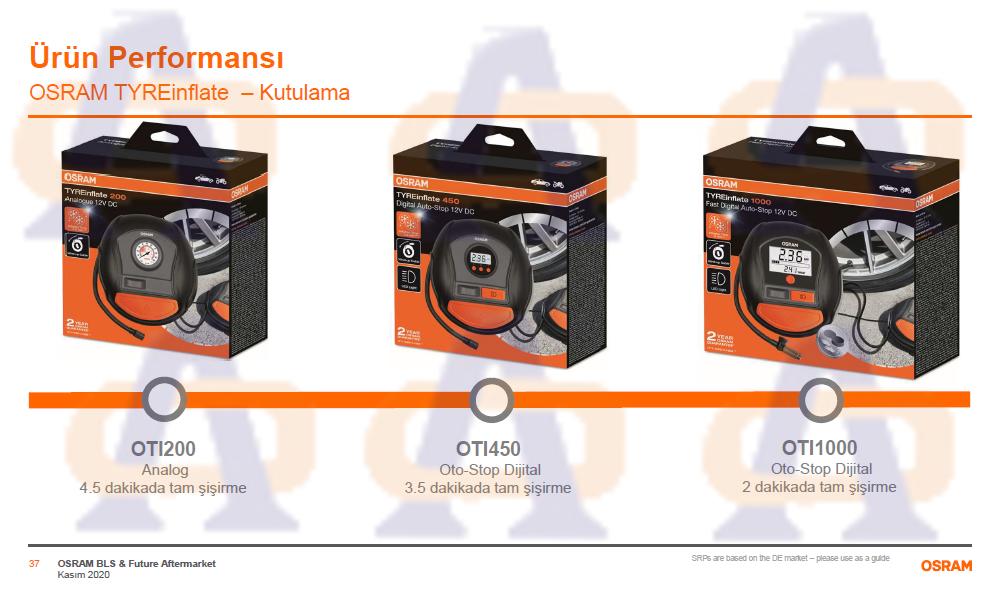 Osram Hava Pompası Analog 200 OTI200